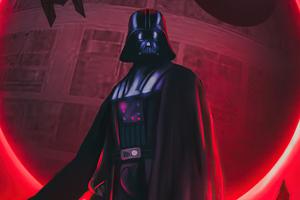 Darth Vader Digital Art 5k Wallpaper