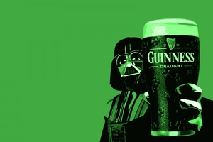 Darth Vader Guinness Wallpaper