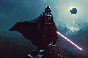 Darth Vader Laser Sword Wallpaper