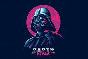 Darth Vader Minimalist Art Wallpaper