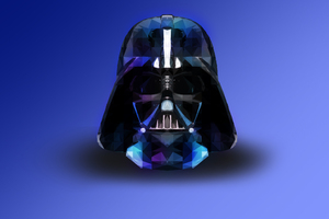 Darth Vader Star Wars Abstract Wallpaper