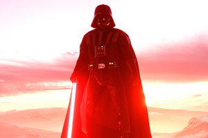 Darth Vader Star Wars Battlefront 2 4k