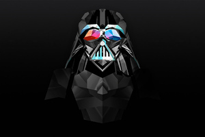 Darth Vader Star Wars Justin Maller Art Wallpaper