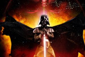 Darth Vader Star Wars Poster 4k