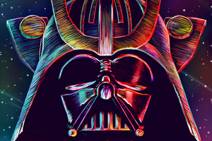 Darth Vader Supervillain 4k