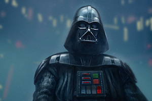 Darth Vader Supervillain Wallpaper