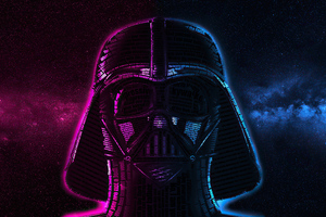 Darth Vader Typography Wallpaper