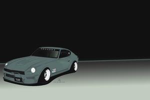 Datsun 240Z Minimal 5k