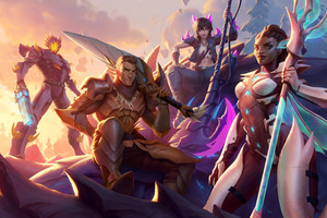 Dauntless 4k 2020 Game Wallpaper