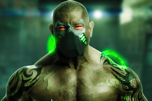 Dave Bautista As Bane Wallpaper
