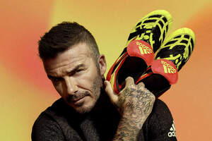 David Beckham Adidas 2018 Wallpaper