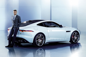 David Beckham Jaguar 8k
