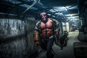 David Harbour As Hellboy 2019