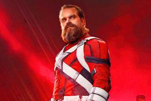 David Harbour As Red Guardian In Black Widow Movie 5k Wallpaper