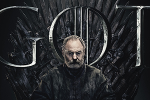 Davos Seaworth Game Of Thrones Season 8 Poster