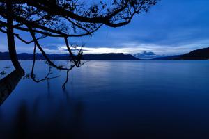 Dawn On Lake