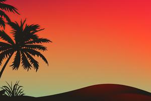 Day In Desert Art Wallpaper