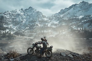 Days Gone Biker 4k Wallpaper