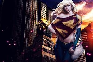 DC Comics Super Girl Wallpaper