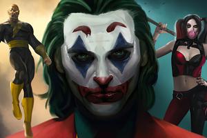 DC Fandome Heroes 4k