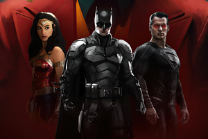 DC Fandome Justice League 4k