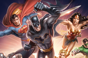 Dc Heroes Art Wallpaper