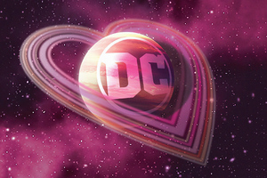 Dc Logo Love 4k Wallpaper