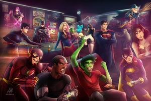 Dc Superheroes 8k