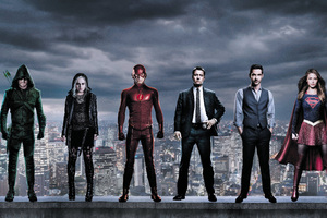 DC The CW Superheroes