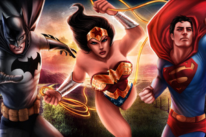 Dc The Trinity Art