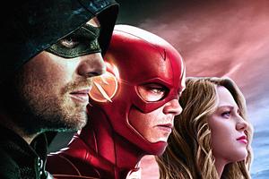 Dc Tv Arrow Flash Supergirl