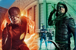 DC Universe Flash Arrow Supergirl Legends of tomorrow Wide Posters 4k