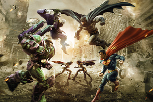 DC Universe Game Art