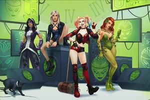 DC Universe Online Birds Of Prey 4k