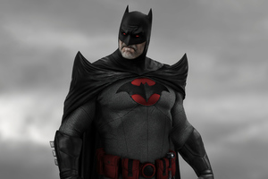 DCEU Flashpoint Batman Concept Art