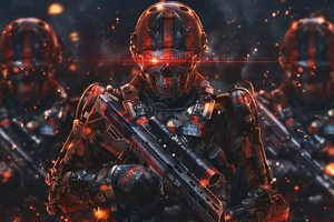 Dead Army 4k Wallpaper