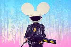 Deadmau5 Dj 5k Wallpaper
