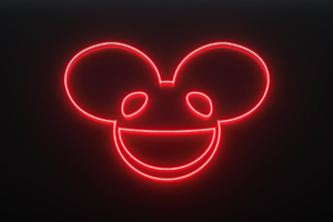 Deadmau5 Neon Logo 4k Wallpaper