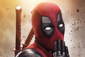 Deadpool 2 5k New Poster Wallpaper