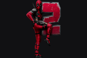 Deadpool 2 Dark 8k Wallpaper