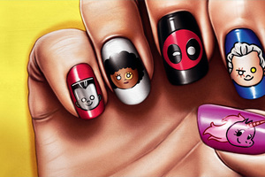 Deadpool 2 Funny Nail Arts Poster 4k