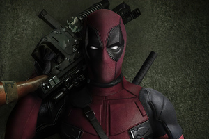 Deadpool 2 Gun 4k Wallpaper