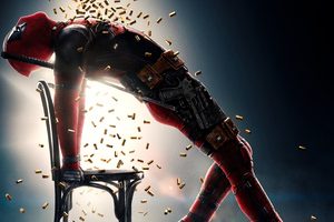 Deadpool 2 Movie Poster 4k
