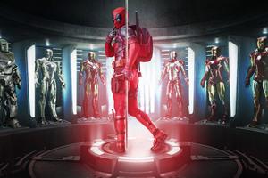 Deadpool 2017 Fan Made Poster Wallpaper
