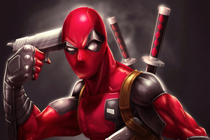 Deadpool 4k 2019 Art