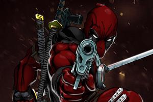 Deadpool 4k Art