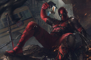 Deadpool 4k Artwork 2020 Wallpaper
