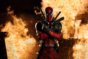 Deadpool 4k Cosplay Wallpaper