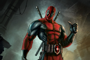 Deadpool 4k Digital Art Wallpaper