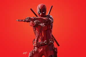Deadpool 4k New Artworks Wallpaper